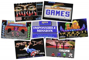 C64 Games - The Last Ninja, California Games, Barbarian, Impossible Mission, Wonder Boy, Skate or Die, International Karate